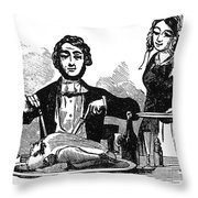 Thanksgiving, 19th Century Throw Pillow