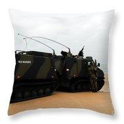 The Bandvagn Bvs10 Viking Used Throw Pillow