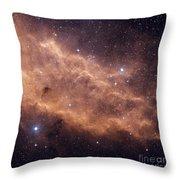The California Nebula Throw Pillow