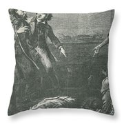 The Capture Of Margaret Garner Throw Pillow