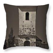 The Church Of Kuopio Throw Pillow