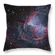 The Dumbbell Nebula Throw Pillow