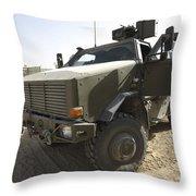 The German Army Atf Dingo Armored Throw Pillow