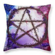 The Goddess Speaks Throw Pillow