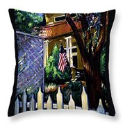 The Grant House Throw Pillow
