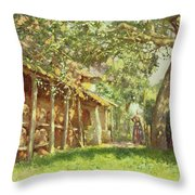 The Gypsy Camp Throw Pillow
