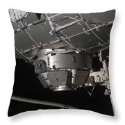 The International Space Stations Throw Pillow