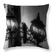 The Light Shadow Throw Pillow