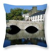 The Mall, Westport, Co Mayo, Ireland Throw Pillow