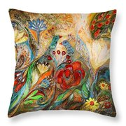 The Mediterranean Summer Throw Pillow