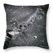 The Moon From Apollo 14 Throw Pillow