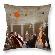 The New Planetarium In Paris, 1880 Throw Pillow