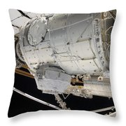 The Pressurized Mating Adapter 3 Throw Pillow