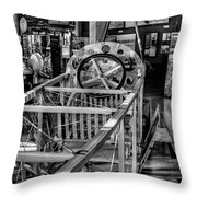 The Red Barn Of The Boeing Company Throw Pillow