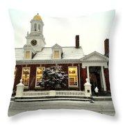 The School House Throw Pillow