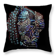 The Two Hearts Throw Pillow