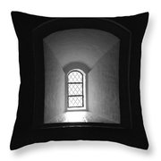 The Window Of The Castle Of Tavastehus Throw Pillow