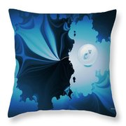 The Wolf Within Throw Pillow
