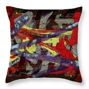 The Writing On The Wall 1 Throw Pillow