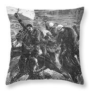 The Zulu War, 1879 Throw Pillow