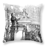 Theodore Parker (1810-1860) Throw Pillow by Granger