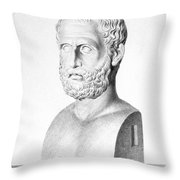 Theophrastus Throw Pillow