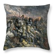 Third Crusade, 1191 Throw Pillow