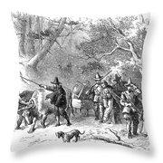 Thomas Hooker (1586-1647) Throw Pillow