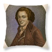 Thomas Paine, American Patriot Throw Pillow by Photo Researchers