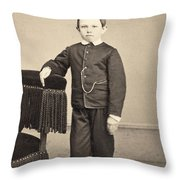 Thomas Tad Lincoln Throw Pillow