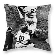 Thomson Home Run, 1951 Throw Pillow