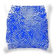 Thumbprint Throw Pillow
