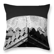 Tomb In India Throw Pillow