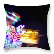 Top Buzz Throw Pillow