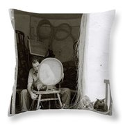 Traditional Spain Throw Pillow