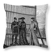 Treaty Of Picquigny Throw Pillow