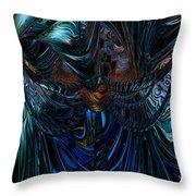Tremendous Overflow Fx  Throw Pillow