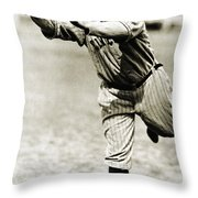 Tris Speaker (1888-1958) Throw Pillow