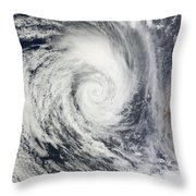 Tropical Cyclone Dianne Throw Pillow