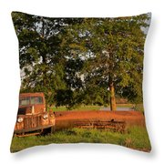 Truck And Tank 8 Throw Pillow