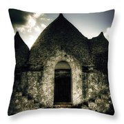 Trulli Throw Pillow