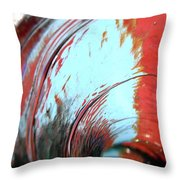 Tsunami 2 Throw Pillow