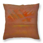 Tsunami Morning Throw Pillow