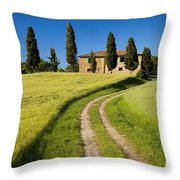 Tuscany Villa Throw Pillow
