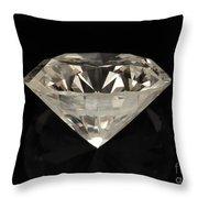 Two Karat Diamond Throw Pillow