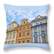 Uniquely Prague Throw Pillow