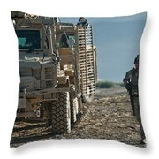 U.s. Air Force Joint Terminal Attack Throw Pillow