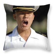 U.s. Naval Academy Midshipmen Throw Pillow