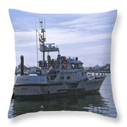 Uscg 47' Lifeboat - 1 Throw Pillow