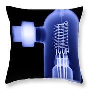 Vacuum Ionization Gauge Tube Throw Pillow